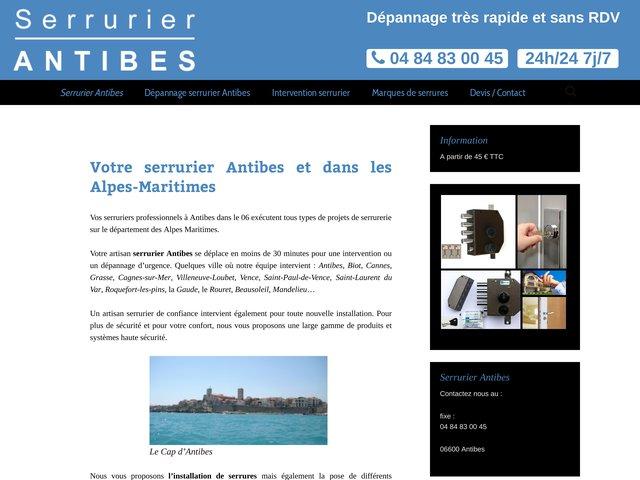 Meilleurs artisans serruriers à Antibes