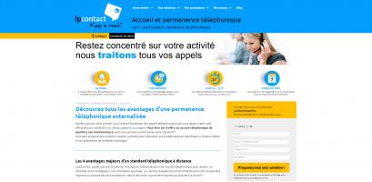 Accueuil & permanence téléphonique externalisés
