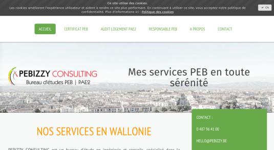 Bureau d'étude en performance énergétique des bâtiments (PEB)