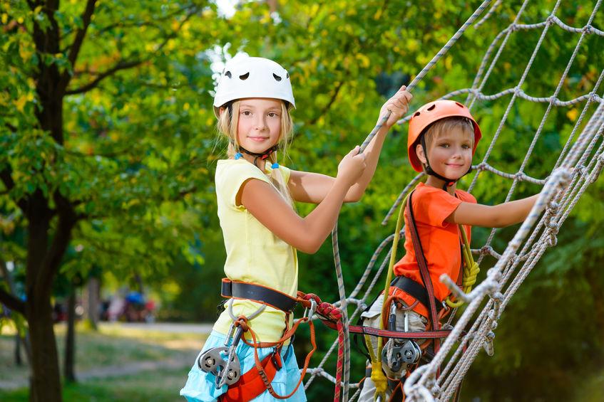 Pitchoun Forest, accrobranche pour enfants à Villeneuve-Loubet