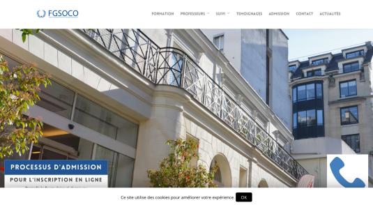 École pour orthodontistes à Paris
