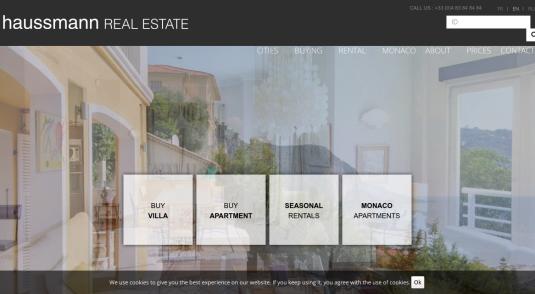 Haussmann Real Estate, agence immobilière de luxe
