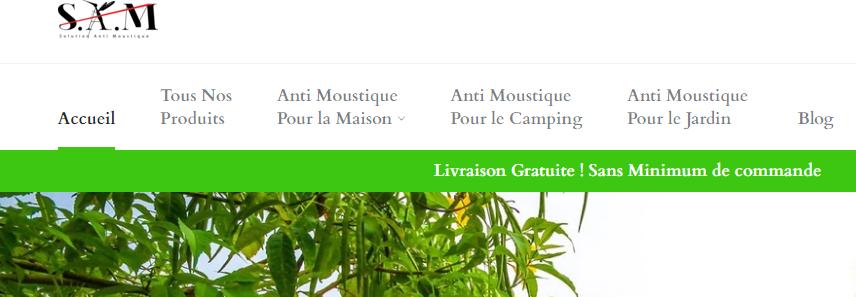 Vente d'anti moustiques naturels