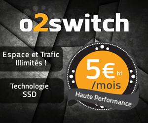 o2switch - Web hosting service