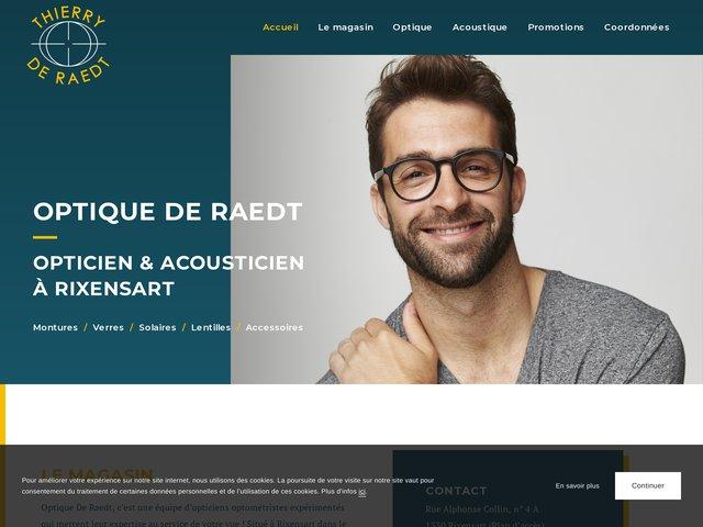 Optique de RAEDT, meilleur magasin d'optique à Rixensart