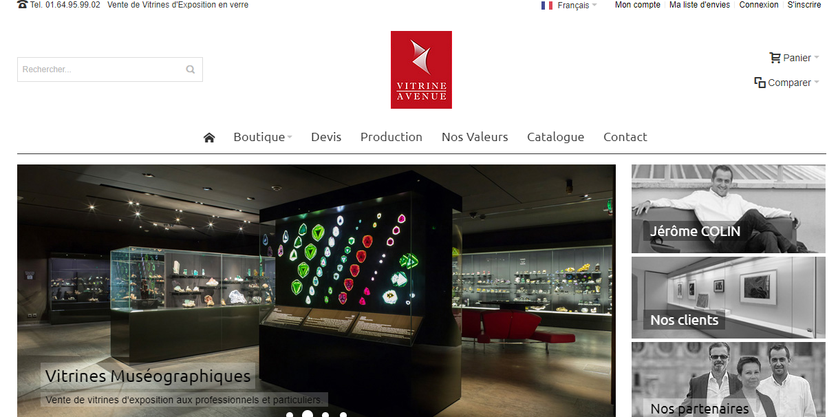 Read more about the article Boutique de vitrines d'exposition en verre