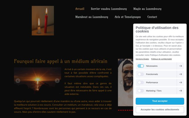 Read more about the article Voyant médium et marabout africain au Luxembourg